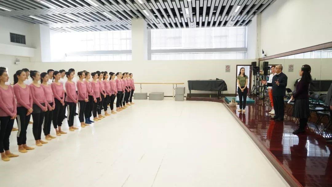 """文化和旅游部机关党委一行惠临我院为舞剧团授予""""青年文明号""""荣誉牌"""